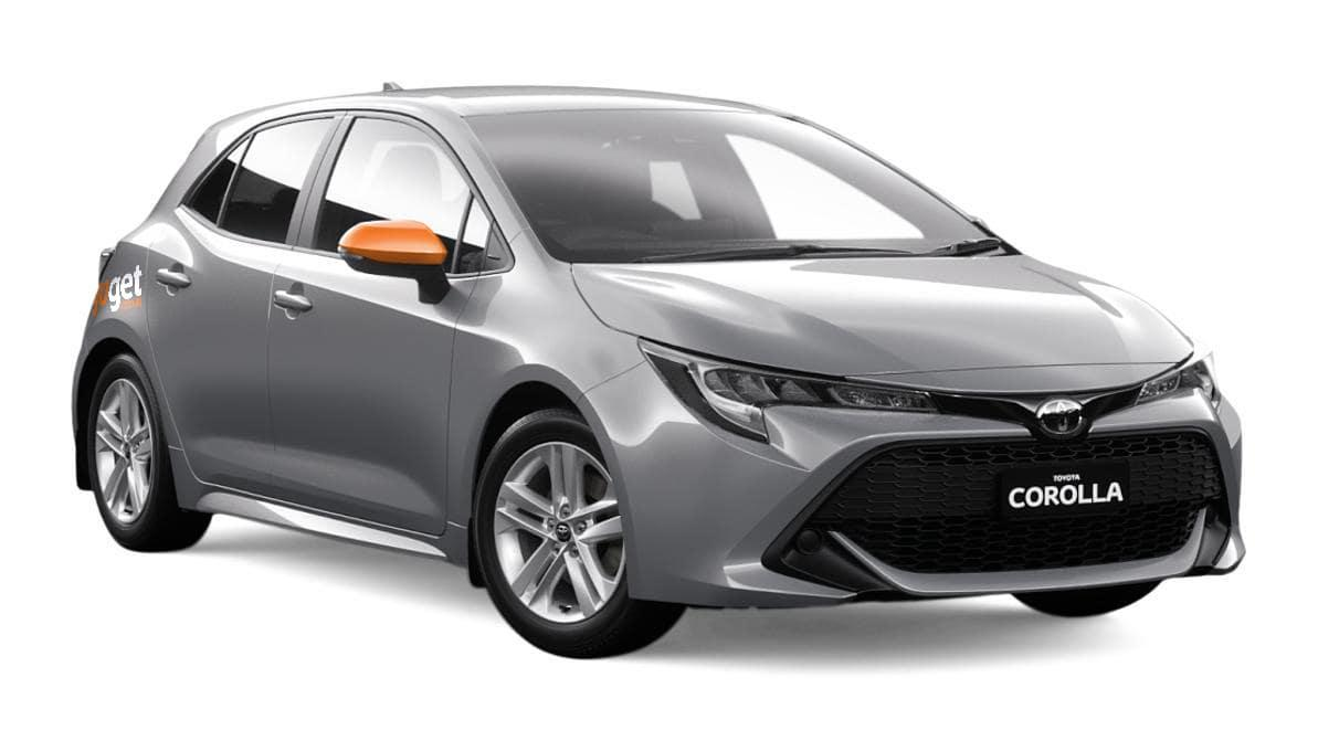 Jothi the Corolla Hybrid