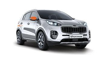 Rent Mossy the Sportage by the hour
