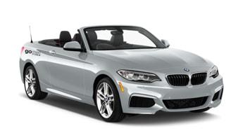 Galina the BMW Convertible