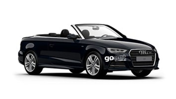 Hazel the Audi A3 Convertible