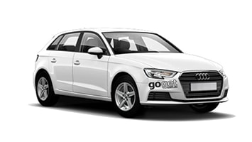 Rent Trenton the Audi A3 by the hour